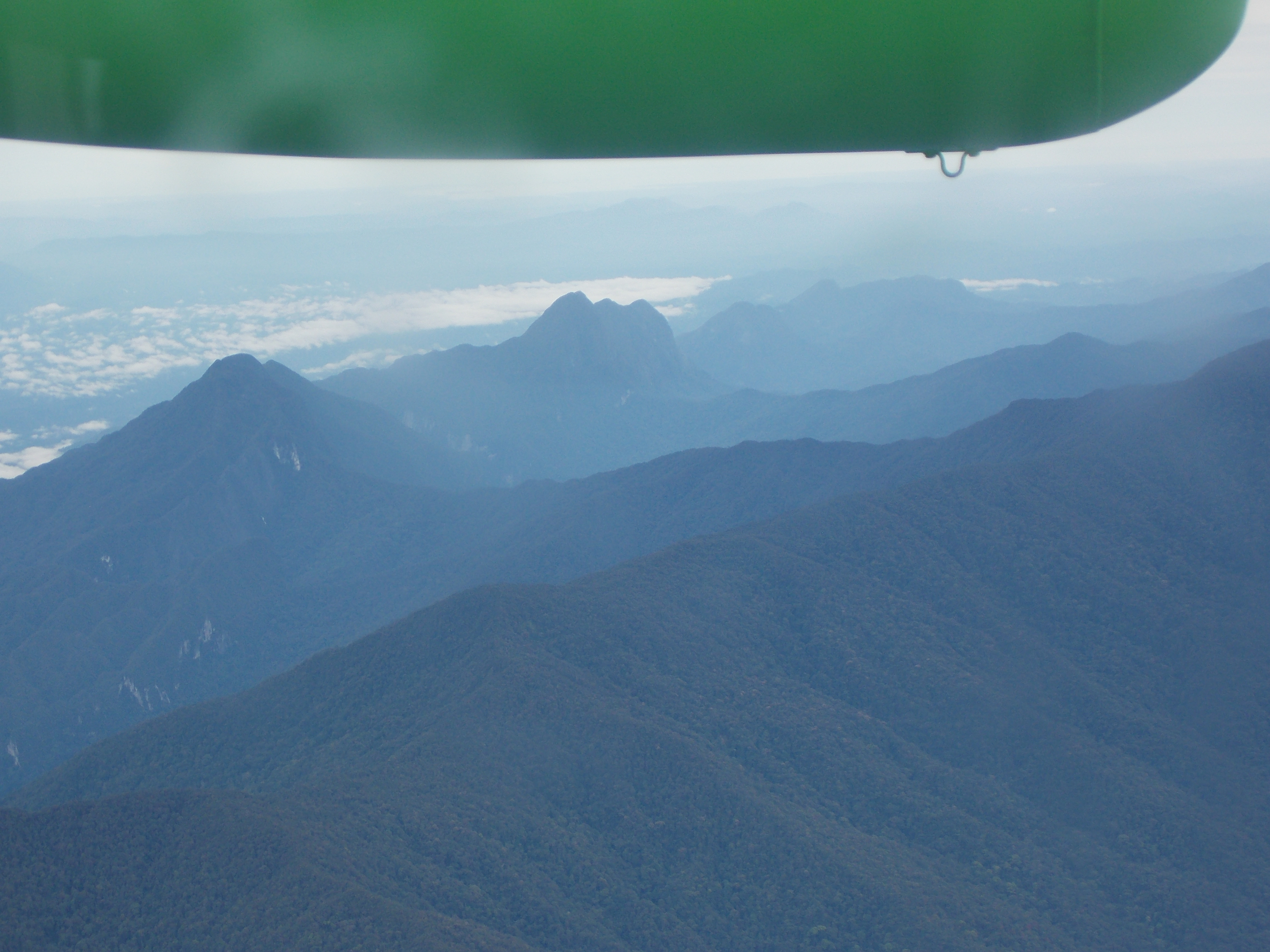 161 Mulu range from above