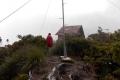 110 Mulu summit mast and building