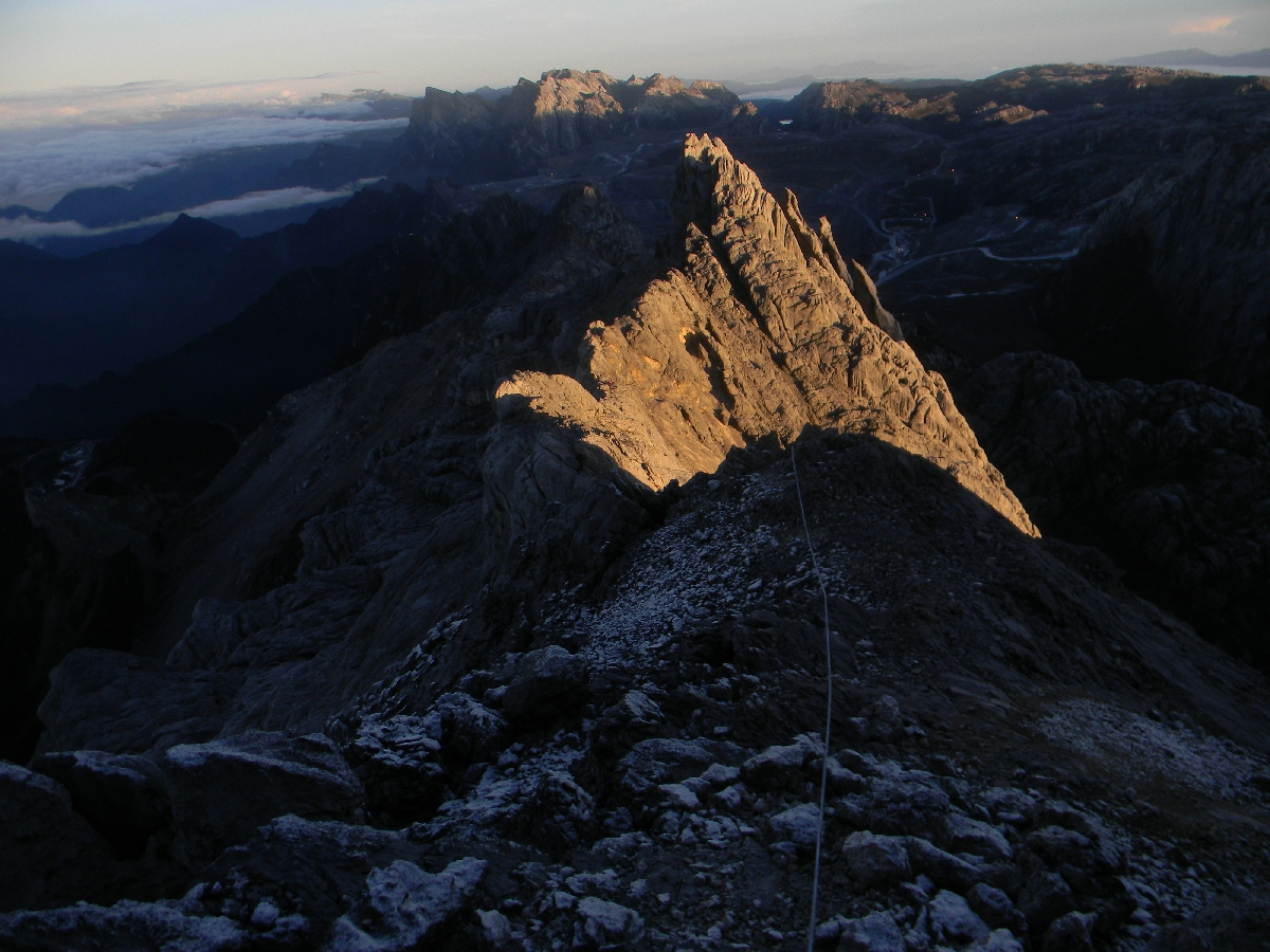 The Carstensz Pyramid Summit Ridge (Robert Cassady, 2010)
