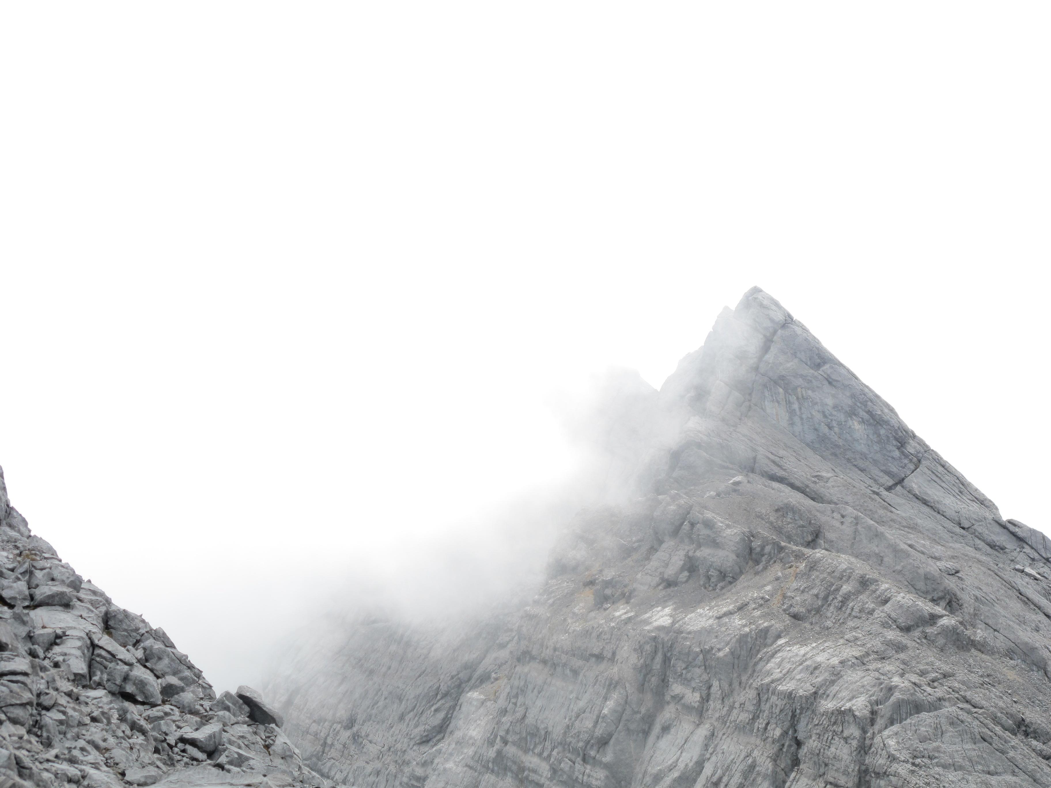 1st Dec 2010 View of Trikora from cloudy summit ridge
