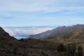 30 Nov 2010 Cloud-filled valley west of Trikora