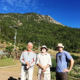 Patrick, Nick and Clemens (Nicholas Hughes, July 2018)