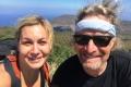 Lisa and David on summit of Manucoco (Lisa Peterskovsky, July 2018)