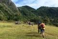 Trailhead of Mundo Perdido trek (Nicholas Hughes, July 2018)