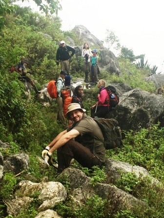Group on descent of Matebean (Nicholas Hughes, July 2018)