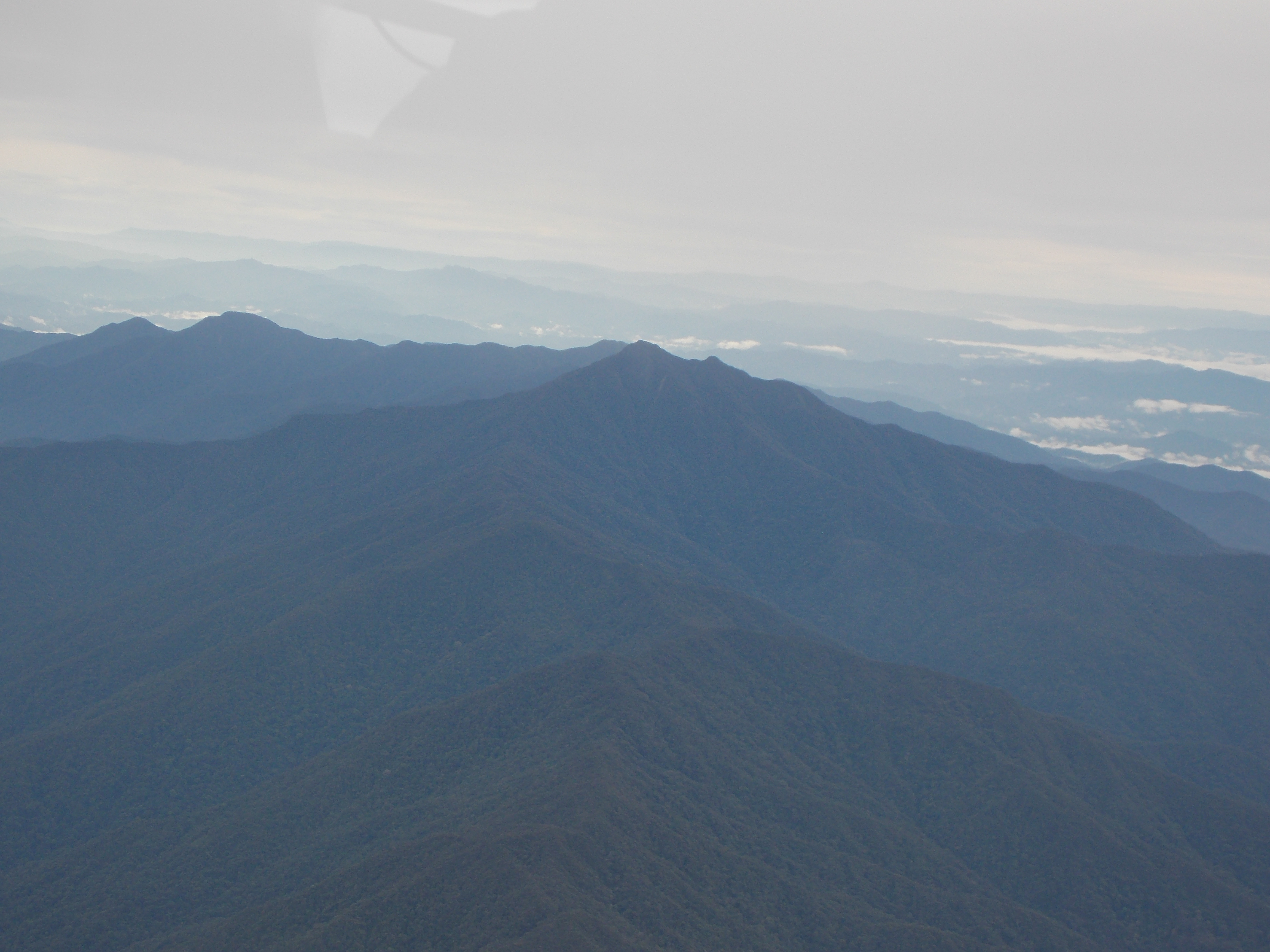 154 Mulu range from above