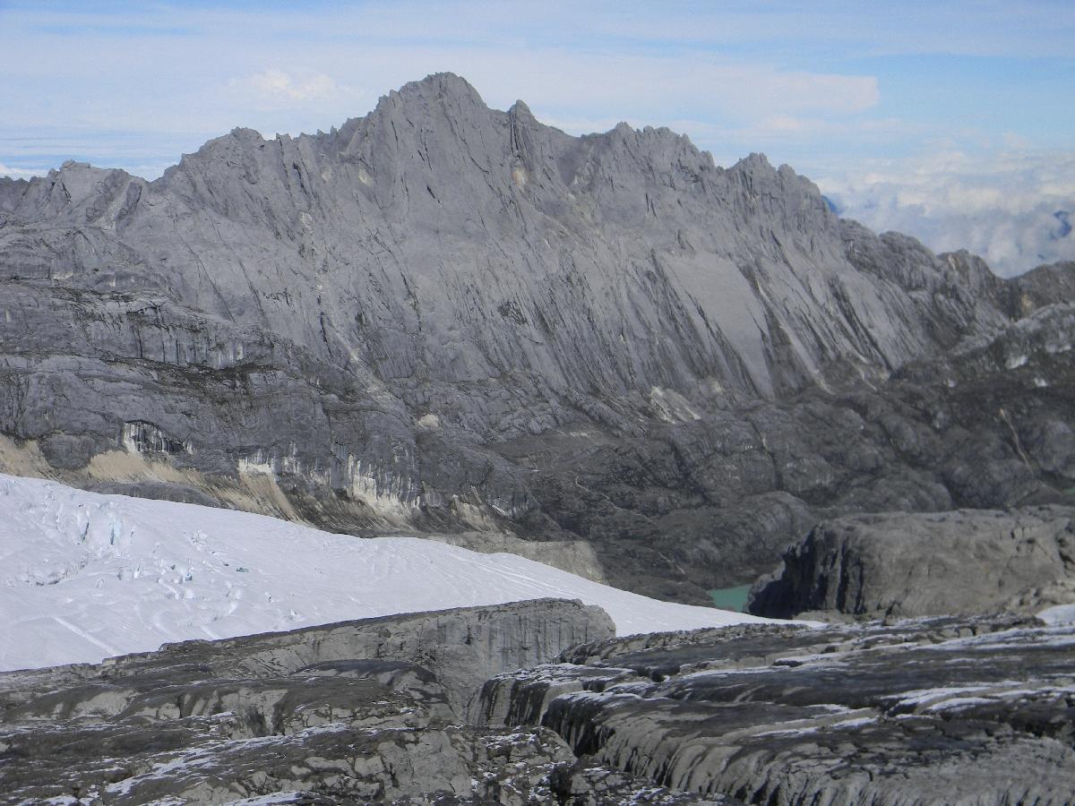 Carstensz Pyramid (Ndugu Ndugu) from Puncak Jaya (Robert Cassady, 2010)