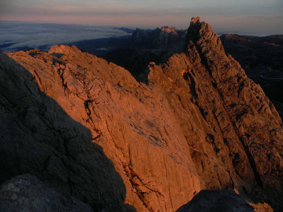 Carstensz Pyramid summit ridge (Robert Cassady, 2010)