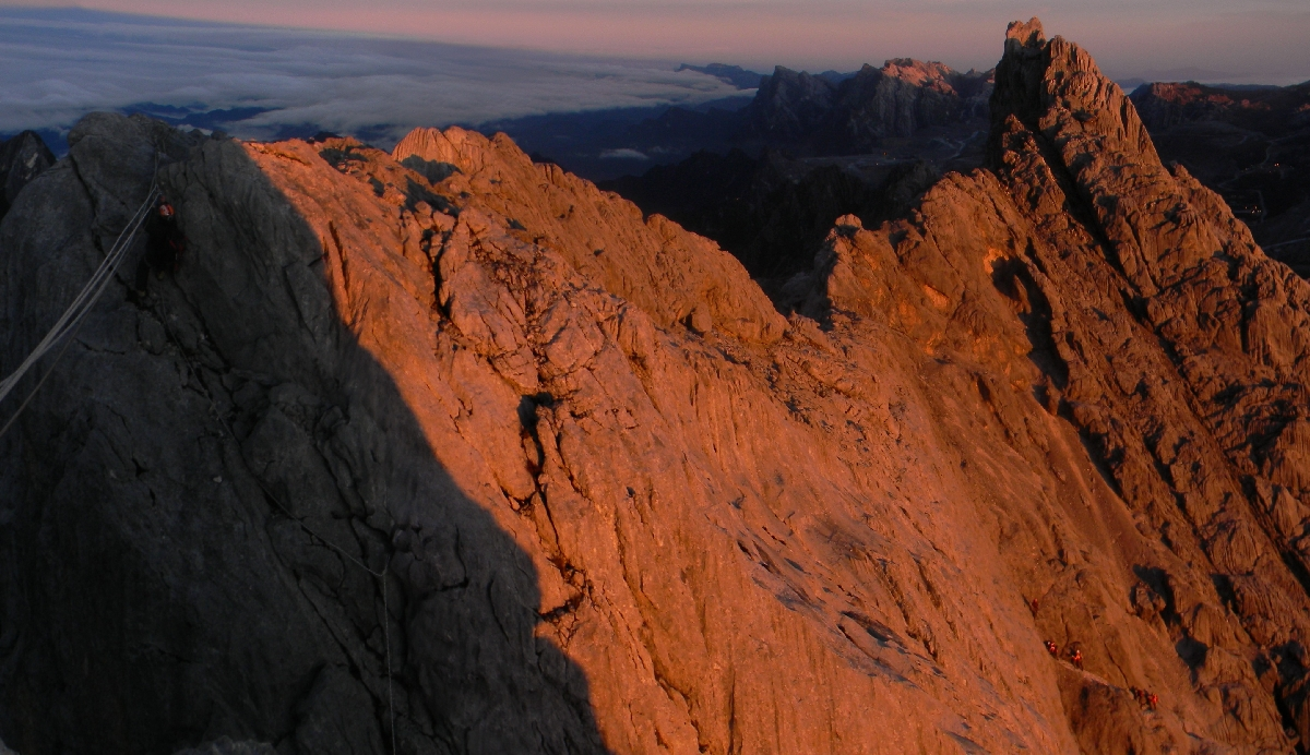 Carstensz summit ridge (Robert Cassady, 2010)