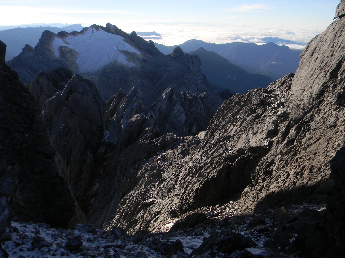 East Carstensz Top from Carstensz Pyramid summit (Robert Cassady, 2010)