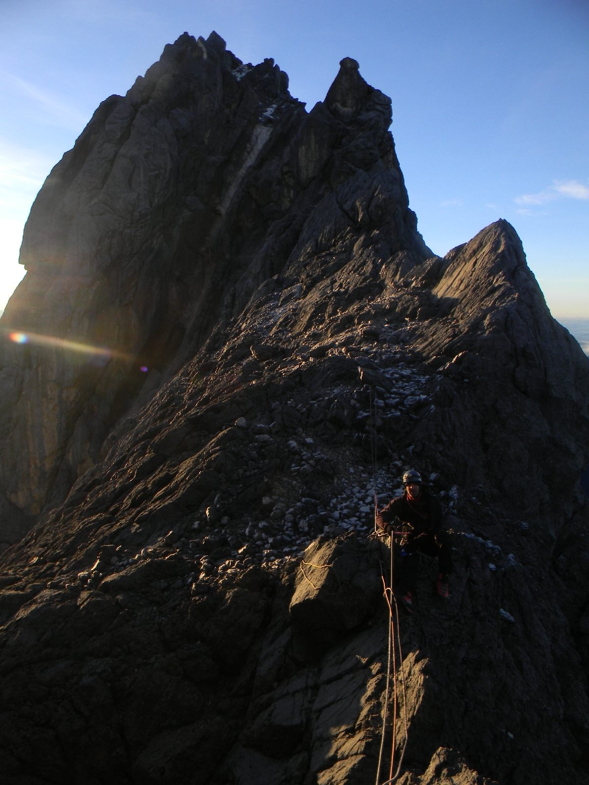 Summit ridge of Carstensz Pyramid (Robert Cassady, 2010)