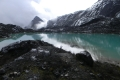 Lake at Carstensz basecamp (Robert Cassady, 2010)