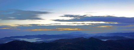 Sunrise from summit of Ramelau (Trevor Sharot, July 2018)