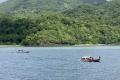 Laworkawra - Arrival at Nila on Sabuk Nusantara 71 (Ben Dowson, May 2021)