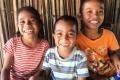 Happy kids - lunch stop after Mundo Perdido (Nicholas Hughes, July 2018)