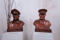 Gunung-Sabatai-Busts-of-Generals-MacArthur-US-and-Blamey-Australia-in-Morotai-WWII-Museum-Nick-Hughes-October-2015